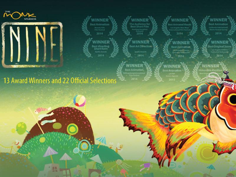 หนังสั้น Nine สุดยอดแอนิเมชั่นฝีมือคนไทย กวาดรางวัลมาแล้วทั่วโลก