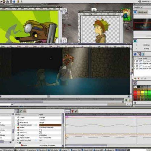 พื้นฐานการสร้าง Animationแบบ 2D