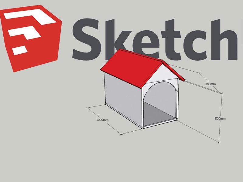 หลักการใช้ Google Sketchup ในเบื้องต้น