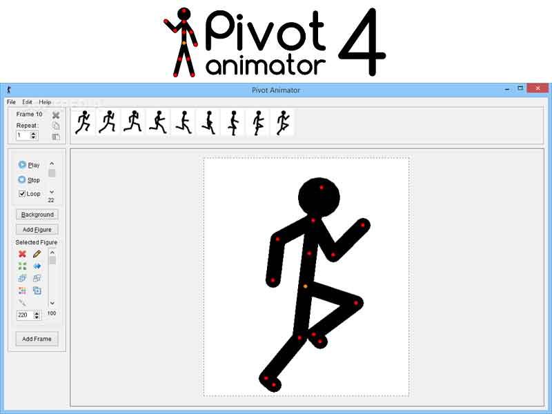โปรแกรมอนิเมชั่น 'Pivot Animator' รีวิว